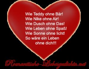 Liebesgedicht 4